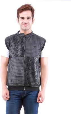 Oceanic Sleeveless Self Design Men's Jacket