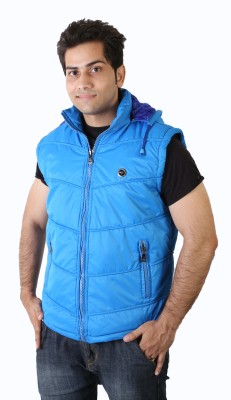 Burdy Sleeveless Solid Men's Jacket