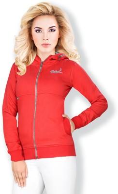 Erdferkel & Wobbegong Full Sleeve Solid Women's Fleece Jacket