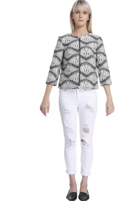 Vero Moda Full Sleeve Self Design Women's Jacket