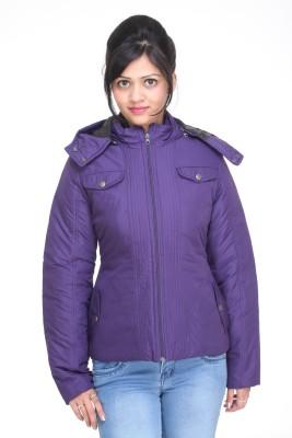 Trufit Full Sleeve Solid Women,s Bomber Jacket