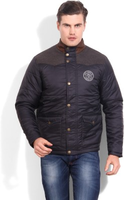 Pepe Jeans Full Sleeve Striped Men's Quilted Jacket
