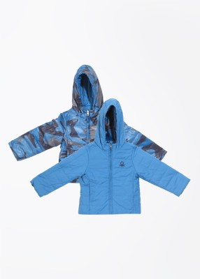 United Colors of Benetton Full Sleeve Printed Boy's Quilted Jacket