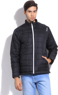 Reebok Full Sleeve Checkered Men's Quilted Jacket