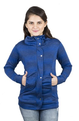 Kaaf Fashion Full Sleeve Striped Women,s Jacket