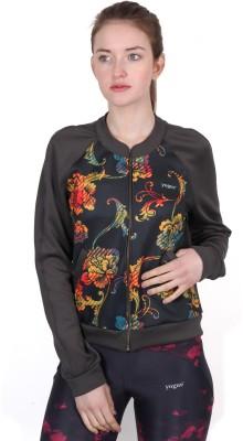 Yogue Full Sleeve Printed Womens Jacket