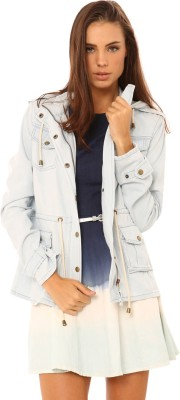 Living Doll Full Sleeve Solid Women's Jacket