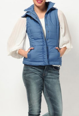 Blacksoul Sleeveless Solid Women's Jacket