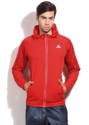Adidas Full Sleeve Solid Men's Jacket