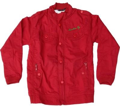 Pogo Full Sleeve Self Design Boy's Fancy Jacket