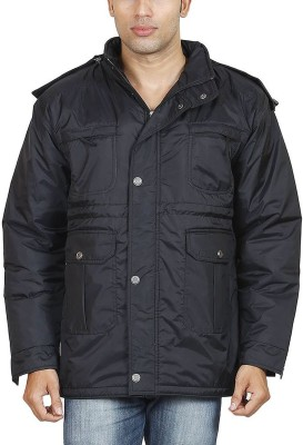 Hiver Full Sleeve Solid Men's Quilted Jacket