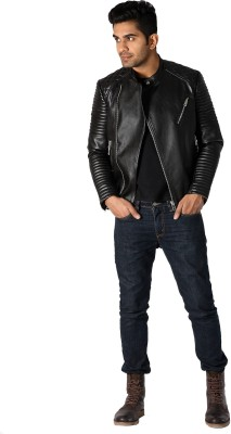 Style Connect Full Sleeve Solid Men's Jacket