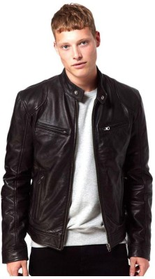 Kirli Full Sleeve Solid Men,s Jacket
