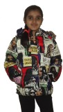 Icable Full Sleeve Printed Girls Jacket