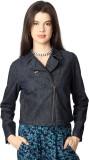People Full Sleeve Solid Women's Jacket