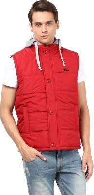 Okane Sleeveless Solid Men,s Jacket