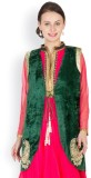 Famous by Payal Kapoor Sleeveless Self D...