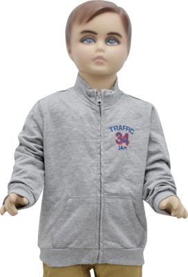 Urban Forest Full Sleeve Solid Boy's Jacket