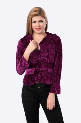 Glam & Luxe Full Sleeve Printed Women's Jacket