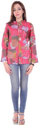 Divyagarment Full Sleeve Printed Women's Jacket