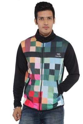 Pure Play Full Sleeve Printed Men's Jacket