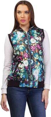 Pazaro Sleeveless Printed Women,s Jacket