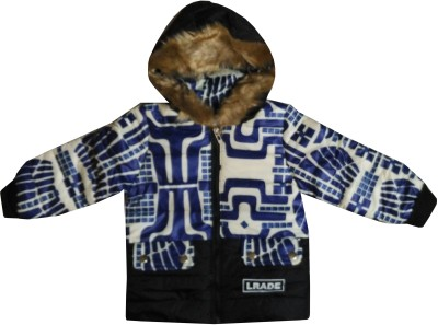 Icable Full Sleeve Self Design Boys Jacket