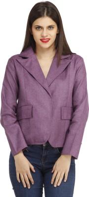 Cottinfab Full Sleeve Woven Women's Jacket at flipkart