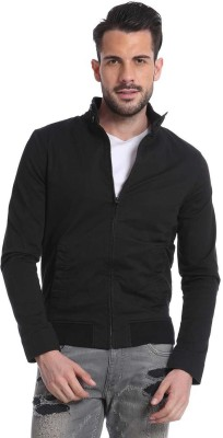 Jack & Jones Full Sleeve Solid Men's Jacket