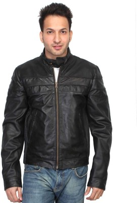 Bareskin Full Sleeve Solid Mens Jacket