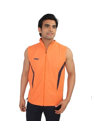 TK Sleeveless Solid Men's Jacket