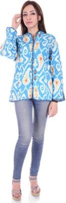 Divyagarment Full Sleeve Printed Women's Jacket