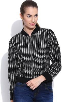 Oner Full Sleeve Self Design Women's Jacket