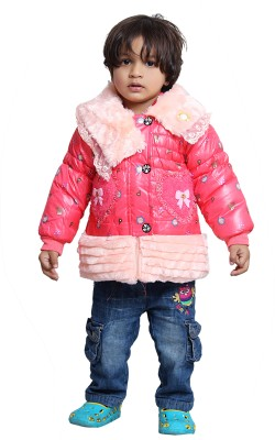 Tiny Toon Full Sleeve Embroidered Girl's Jacket