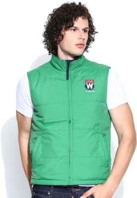 Wrangler Sleeveless Solid Men's Jacket