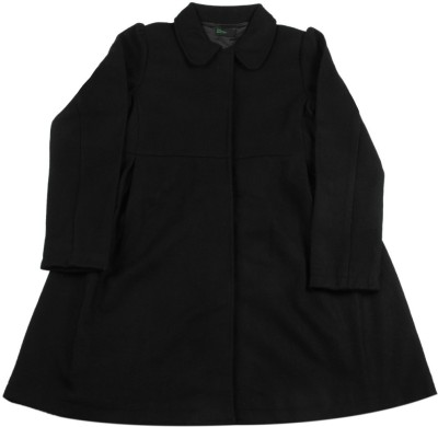 United Colors of Benetton Full Sleeve Solid Girls Jacket
