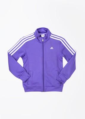 Adidas Full Sleeve Solid Boy's Jacket