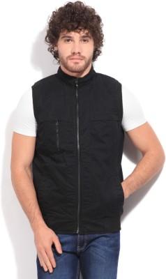 John Players Sleeveless Solid Men's Jacket