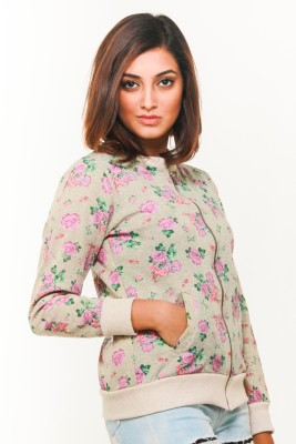 Young Trendz Full Sleeve Floral Print Women's Jacket