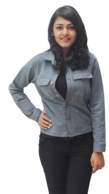Oshin Full Sleeve Solid Women's Denim Jacket