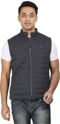 Design Classics Sleeveless Embroidered Men,s Quilted Jacket