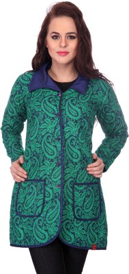 Lavennder Sleeveless Printed Women's Quilted Jacket