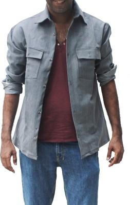 Hydra Full Sleeve Solid Men's Denim Jacket