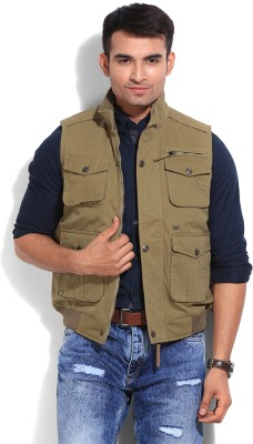 Duke Stardust Sleeveless Solid Men's Jacket