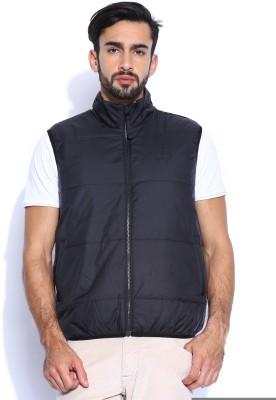 Lee Sleeveless Solid Men,s Jacket