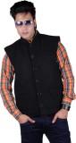 Vivid Bharti Sleeveless Solid Men's Quil...