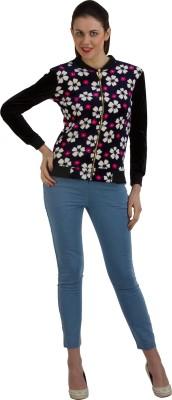 GUDS Full Sleeve Floral Print Women's Jacket