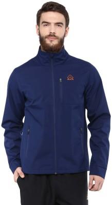 Aurro Full Sleeve Solid Mens Jacket