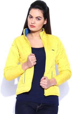 Harvard Full Sleeve Solid Women's Jacket at flipkart