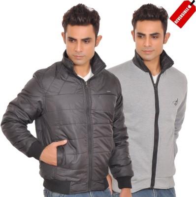 Be-Beu Full Sleeve Striped Men's Jacket
